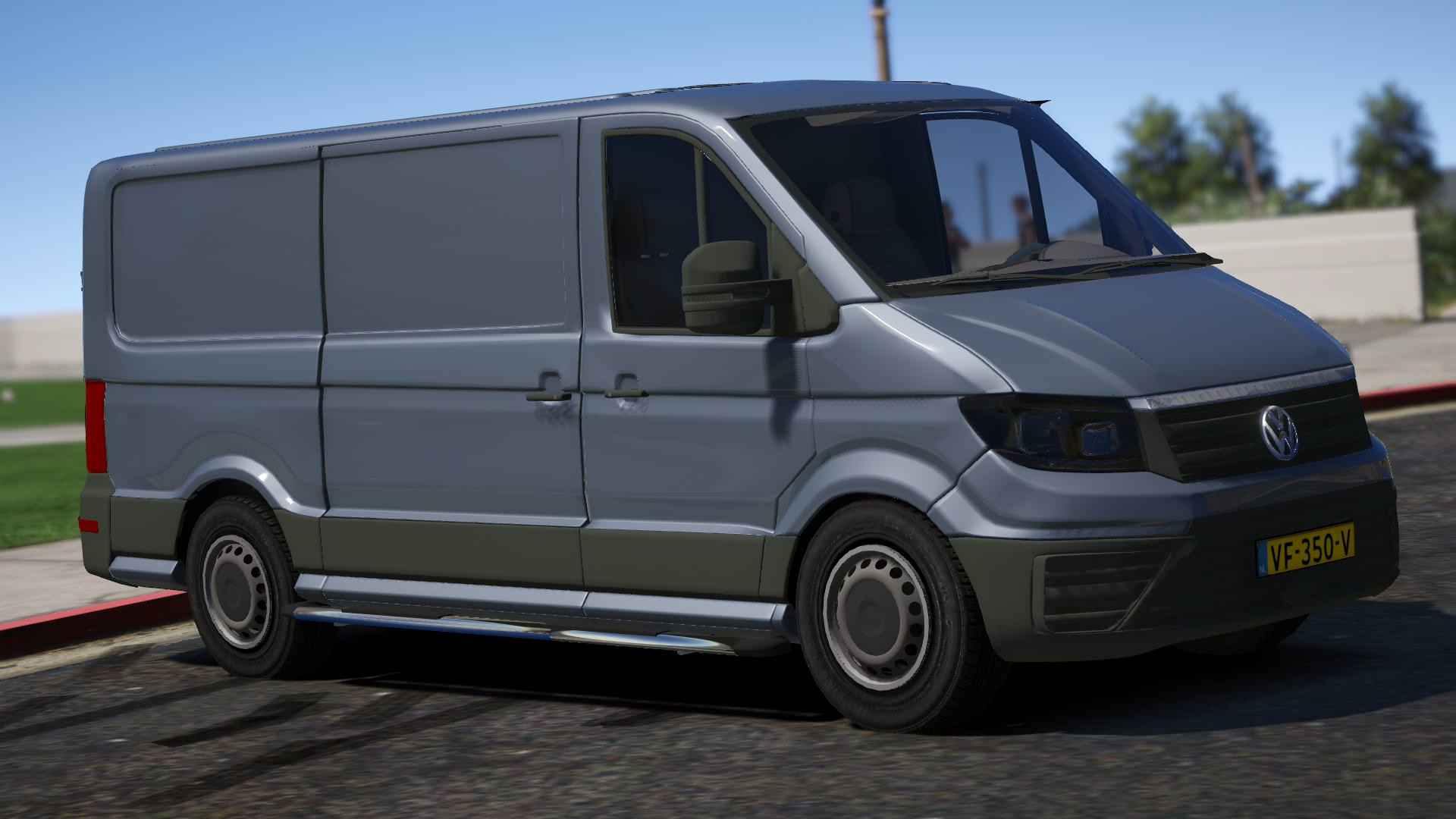 vw crafter 2017 civ replace gta5. Black Bedroom Furniture Sets. Home Design Ideas