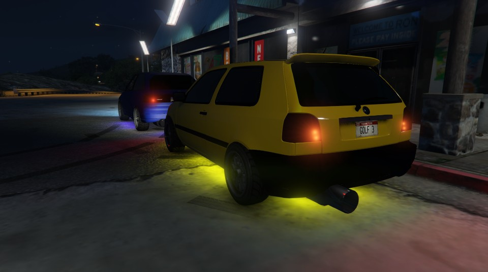 Volkswagen Golf Iii Tuning Gta5 Mods Com