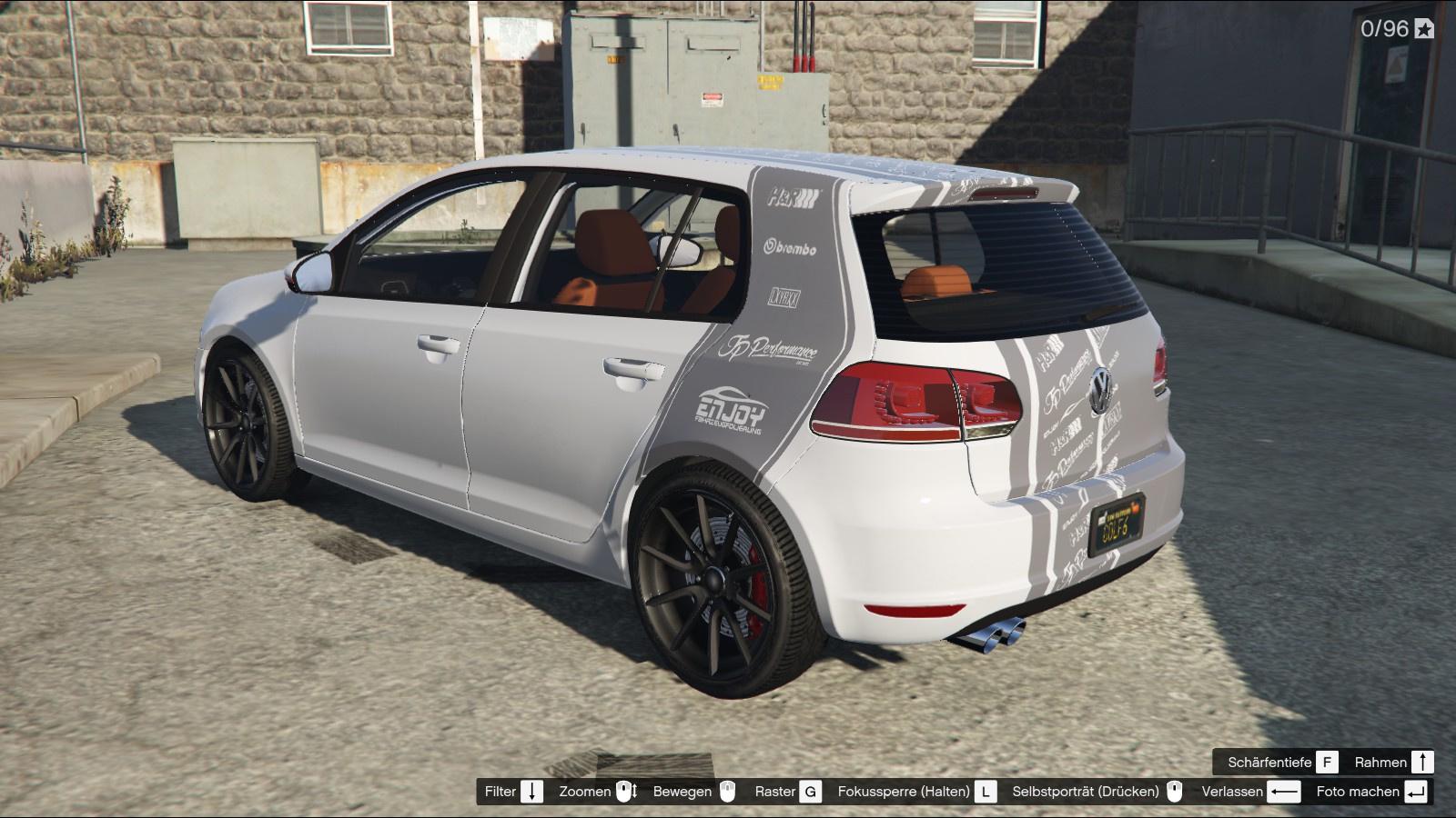 Vw Golf Mk6 Gti Livery Logostripes Jp Performance Enjoy Carwrapping Gta5 Mods Com