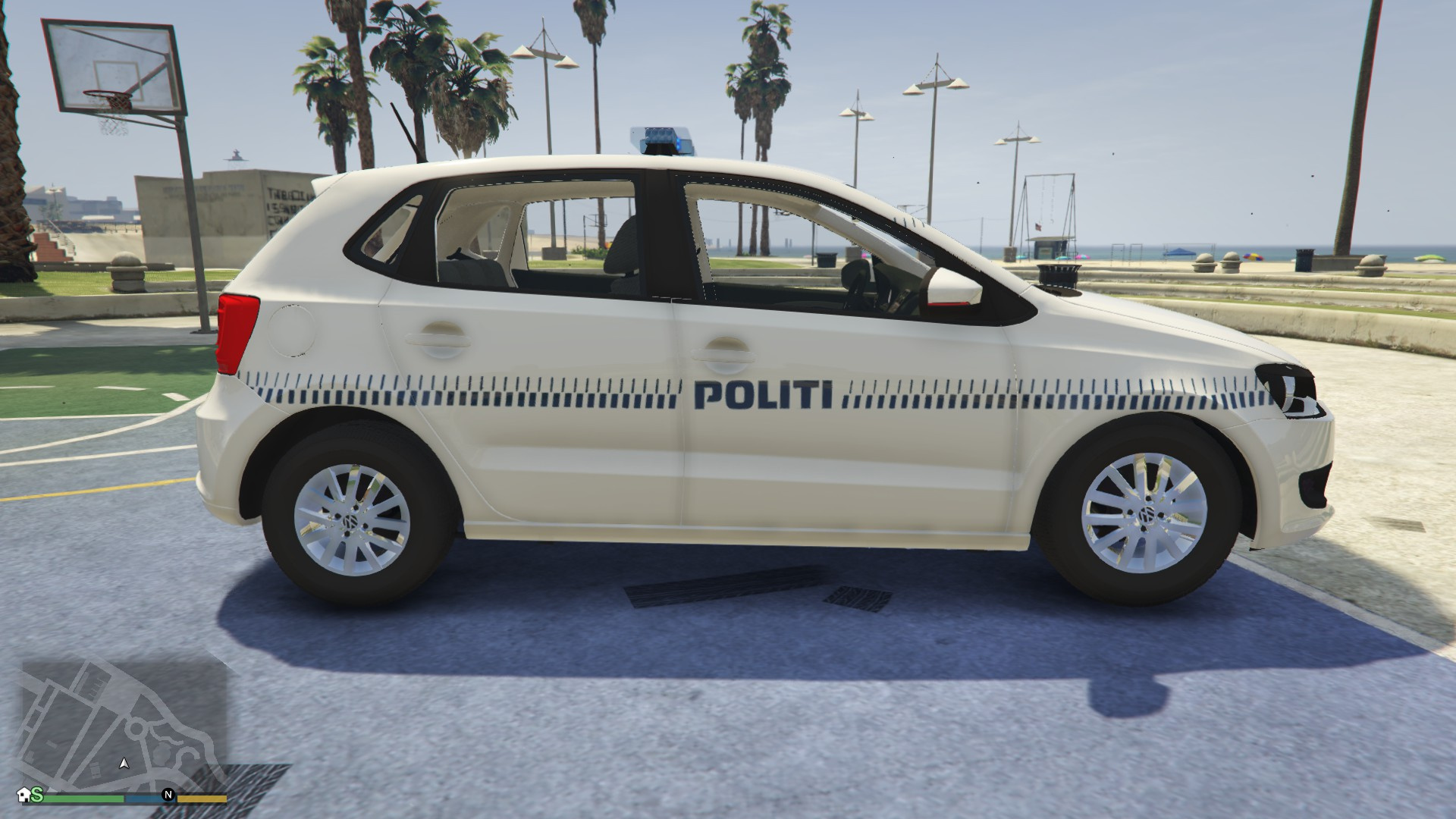volkswagen polo danish police car gta5. Black Bedroom Furniture Sets. Home Design Ideas