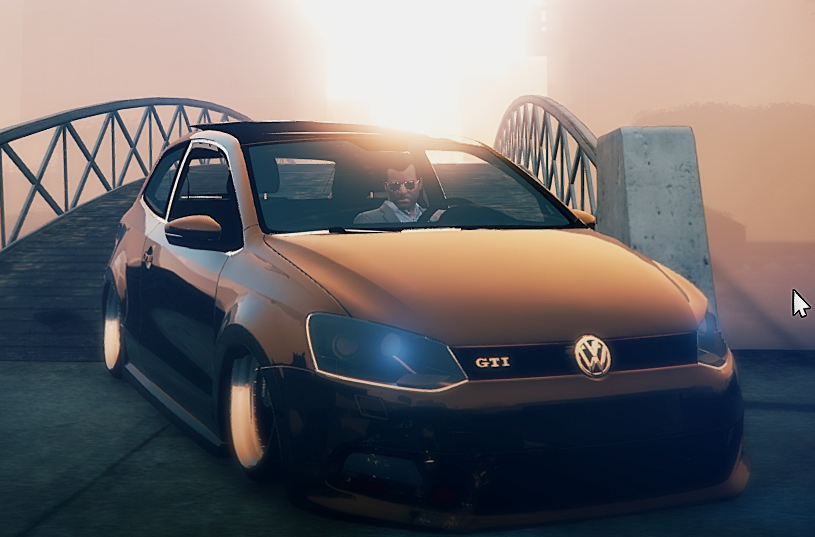 volkswagen polo gti 2011 add on replace stanced gta5. Black Bedroom Furniture Sets. Home Design Ideas