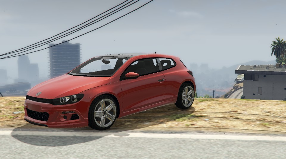 volkswagen scirocco r 2011 add on replace gta5. Black Bedroom Furniture Sets. Home Design Ideas