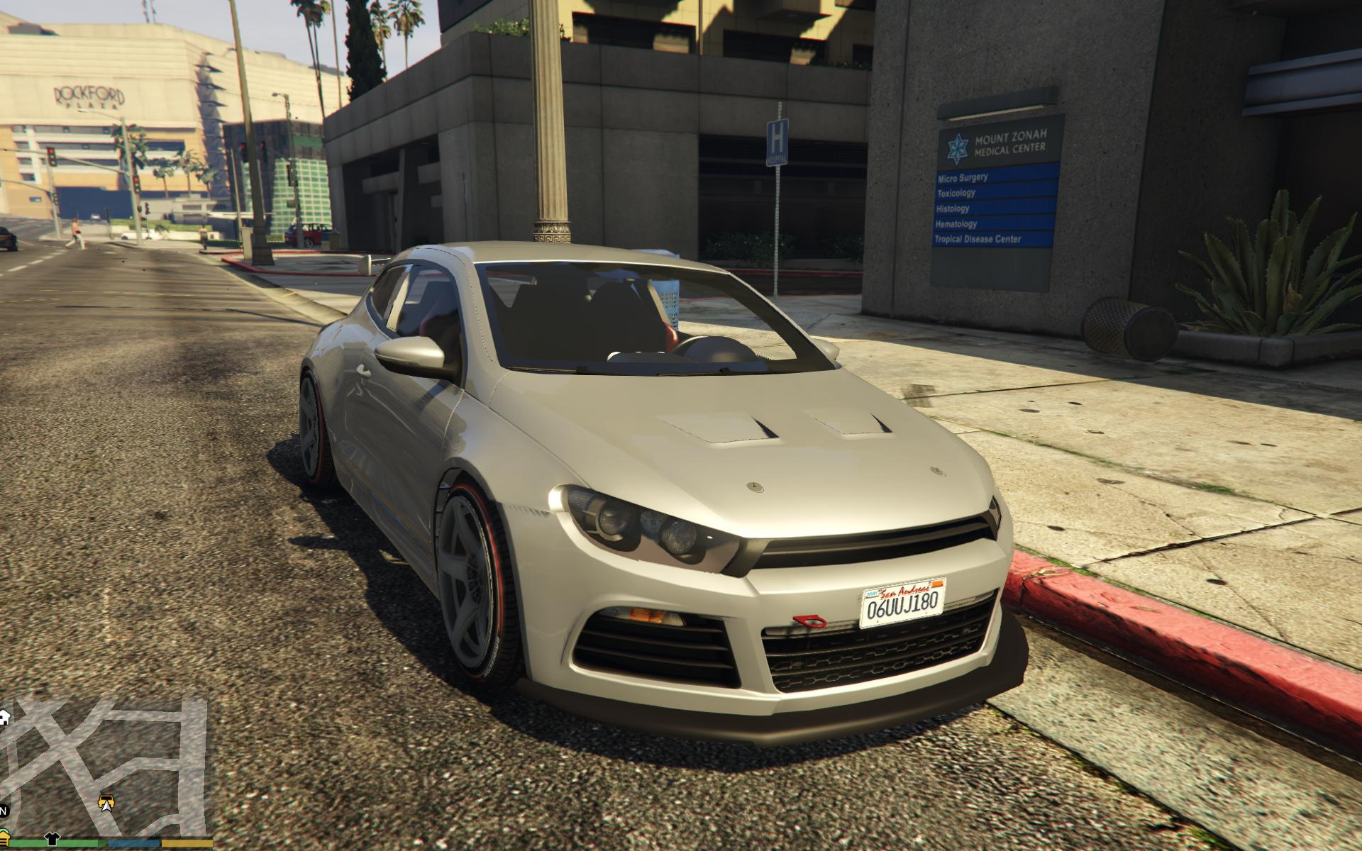 volkswagen scirocco gta5. Black Bedroom Furniture Sets. Home Design Ideas