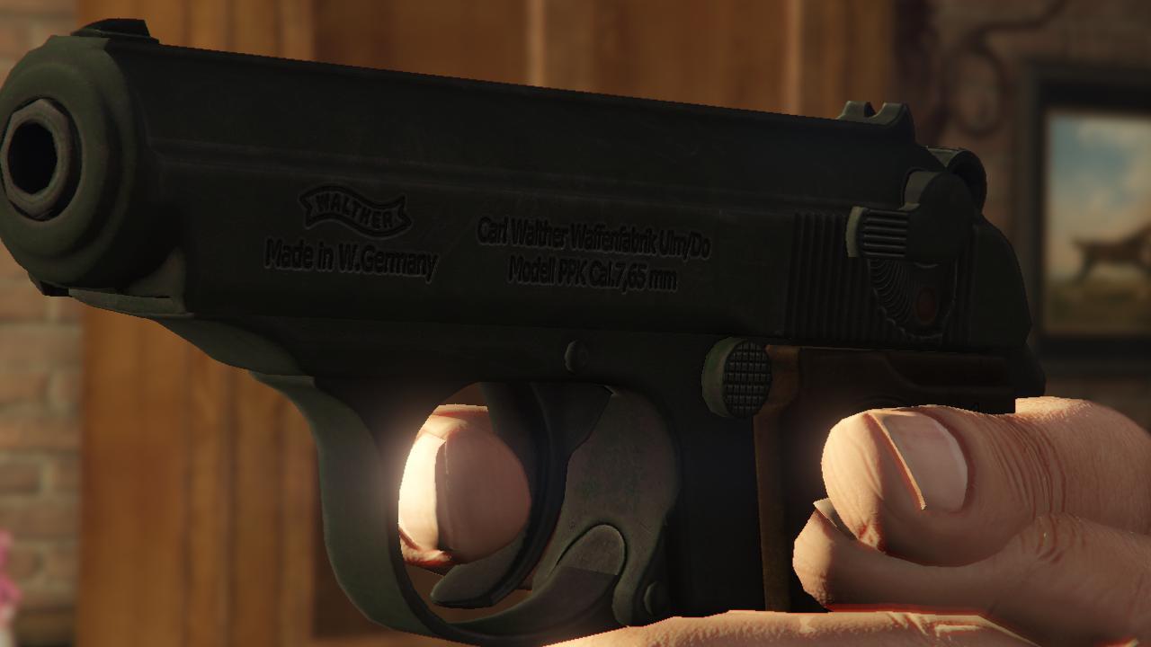 Walther PPK [4K] - GTA5-Mods com