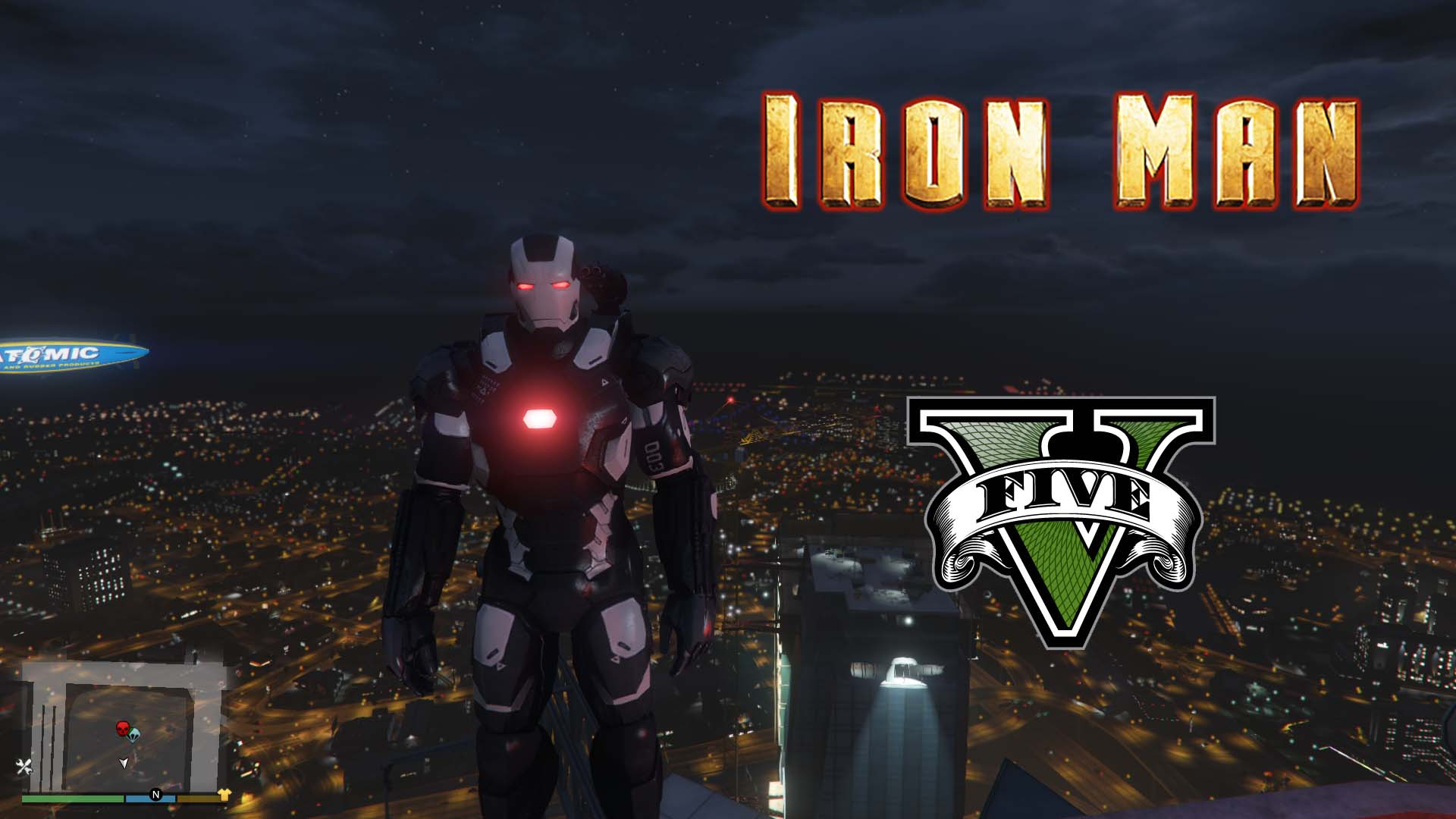 Latest GTA 5 Mods - Iron Man - GTA5-Mods com