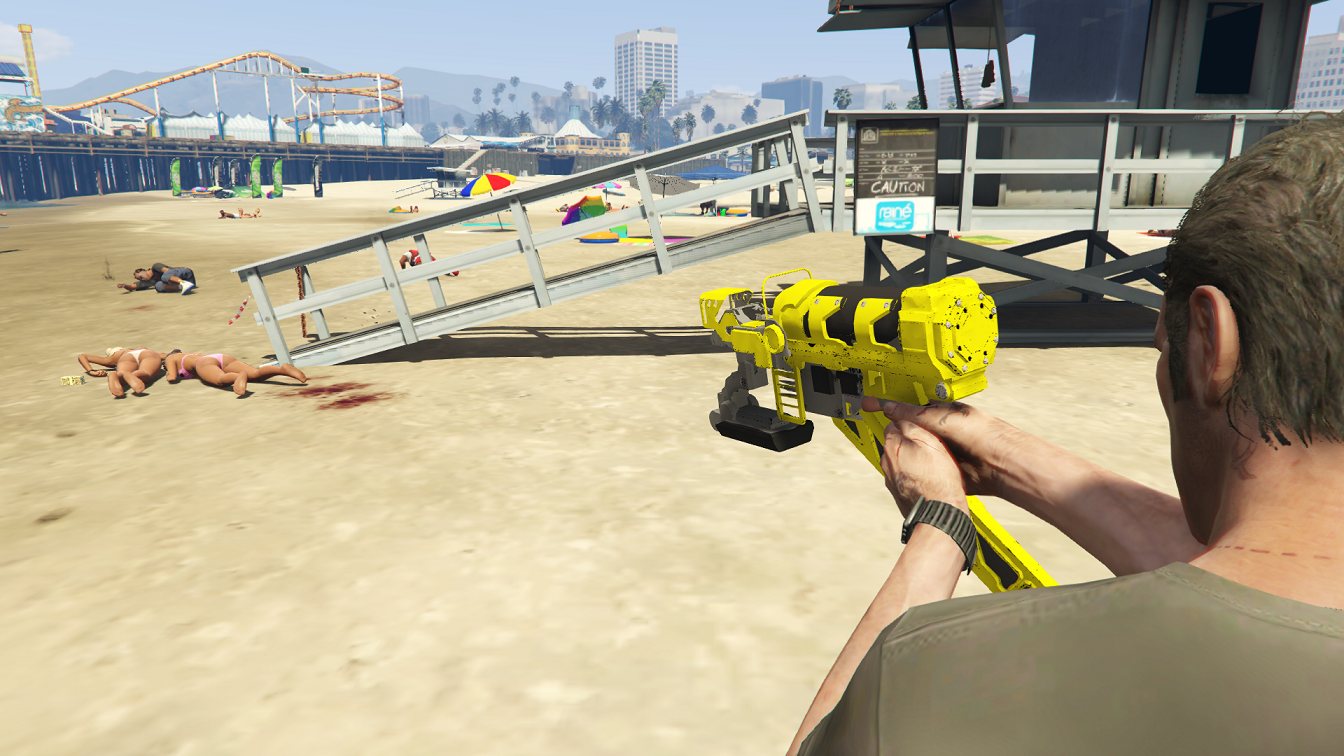 Weaponized Nail Gun - GTA5-Mods.com