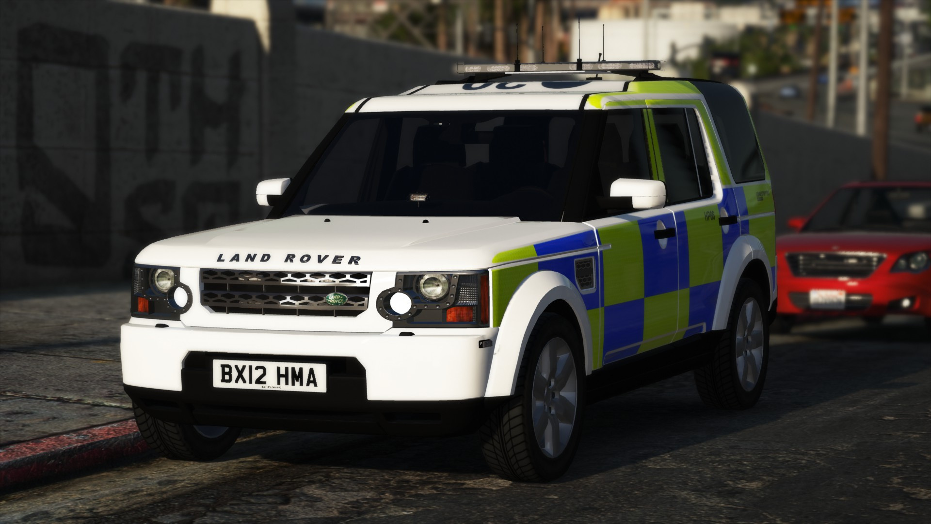 West Midlands Police - Land Rover Discovery 4 [ELS] - GTA5