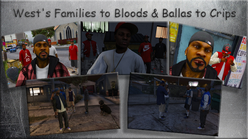 Families to Bloods & Ballas to Crips + Females + Lamar