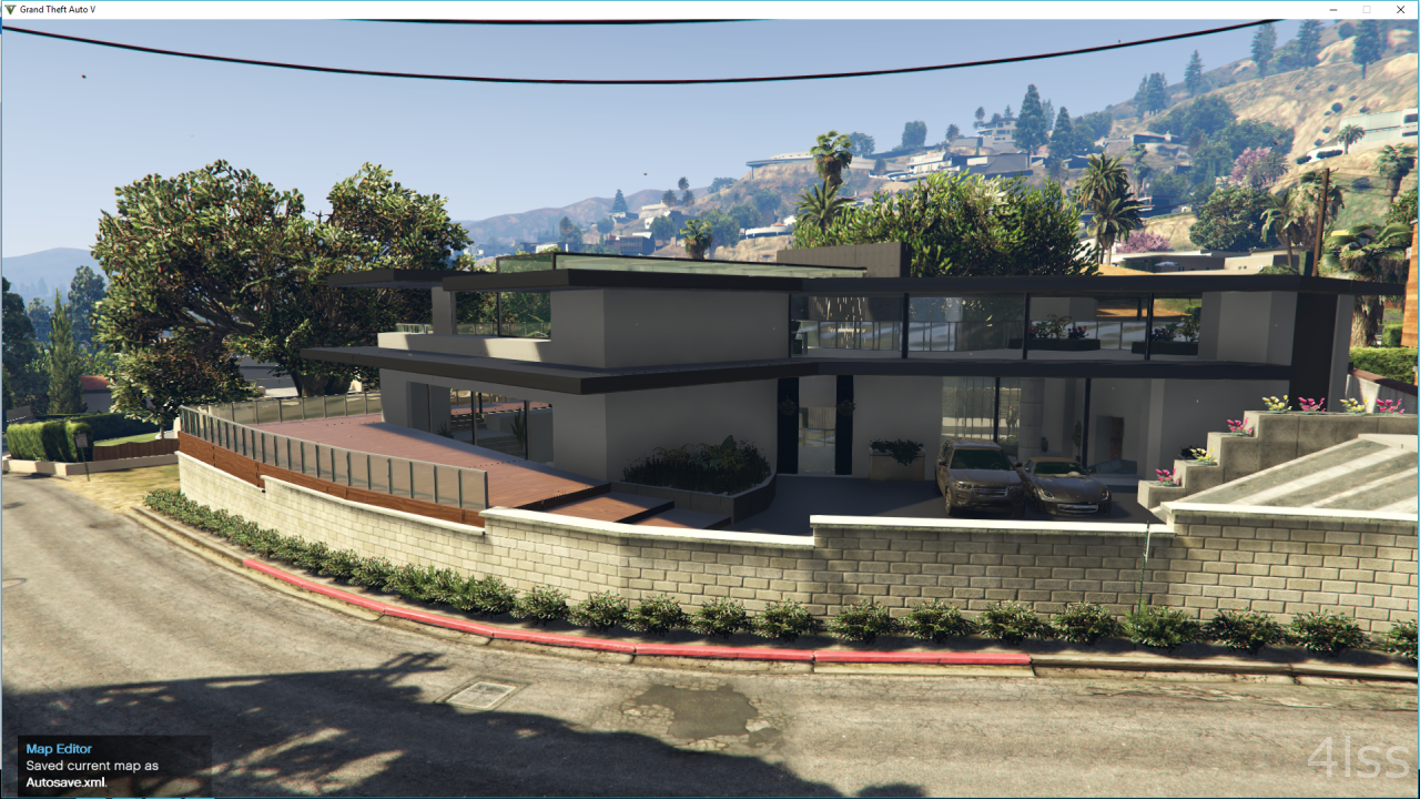 West vinewood modern house gta5 for Modern house 1