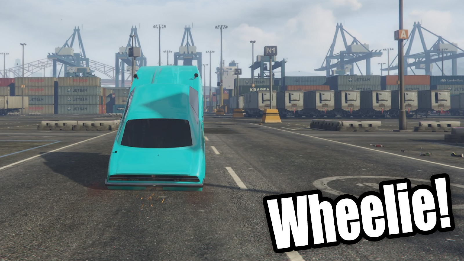 how to use the wheelie bar in gta 5 pc
