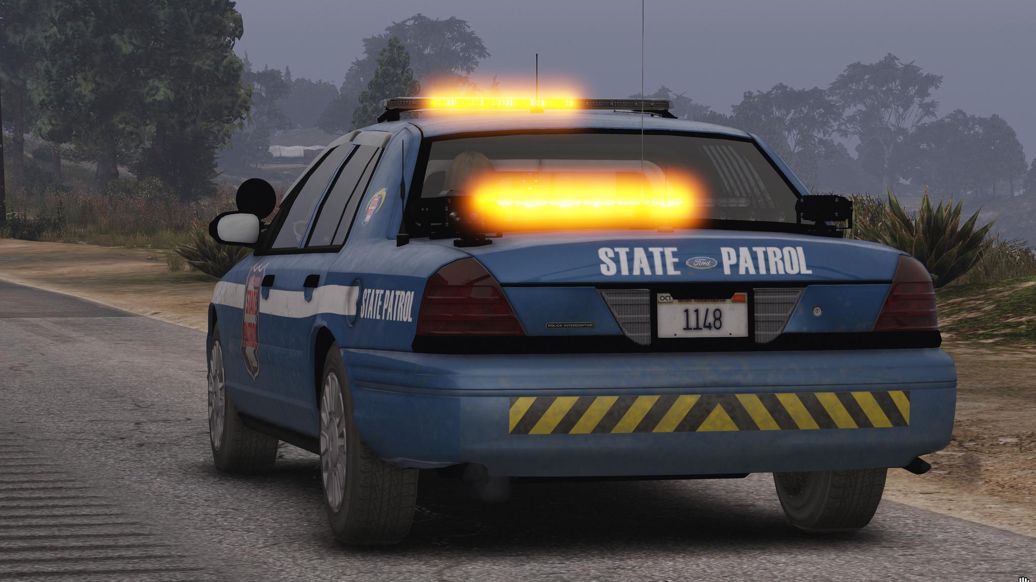 Wisconsin State Patrol 2011 Cvpi  Crown Victoria