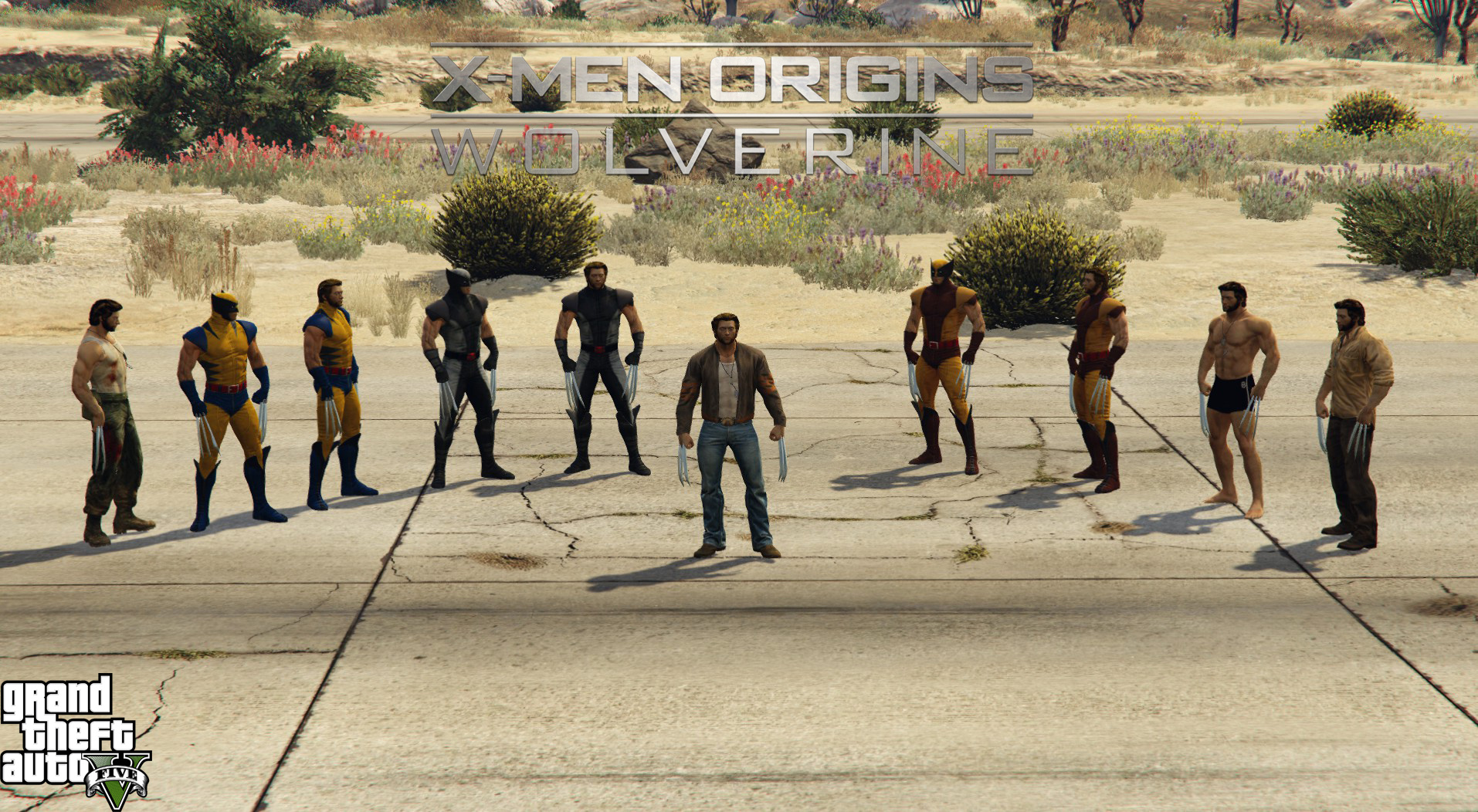 Wolverine: X-Men Origins Pack [Add-On] - GTA5-Mods com