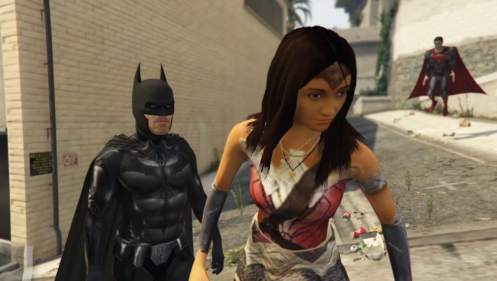 Wonder Woman Batman V Superman - Gta5-Modscom-4289