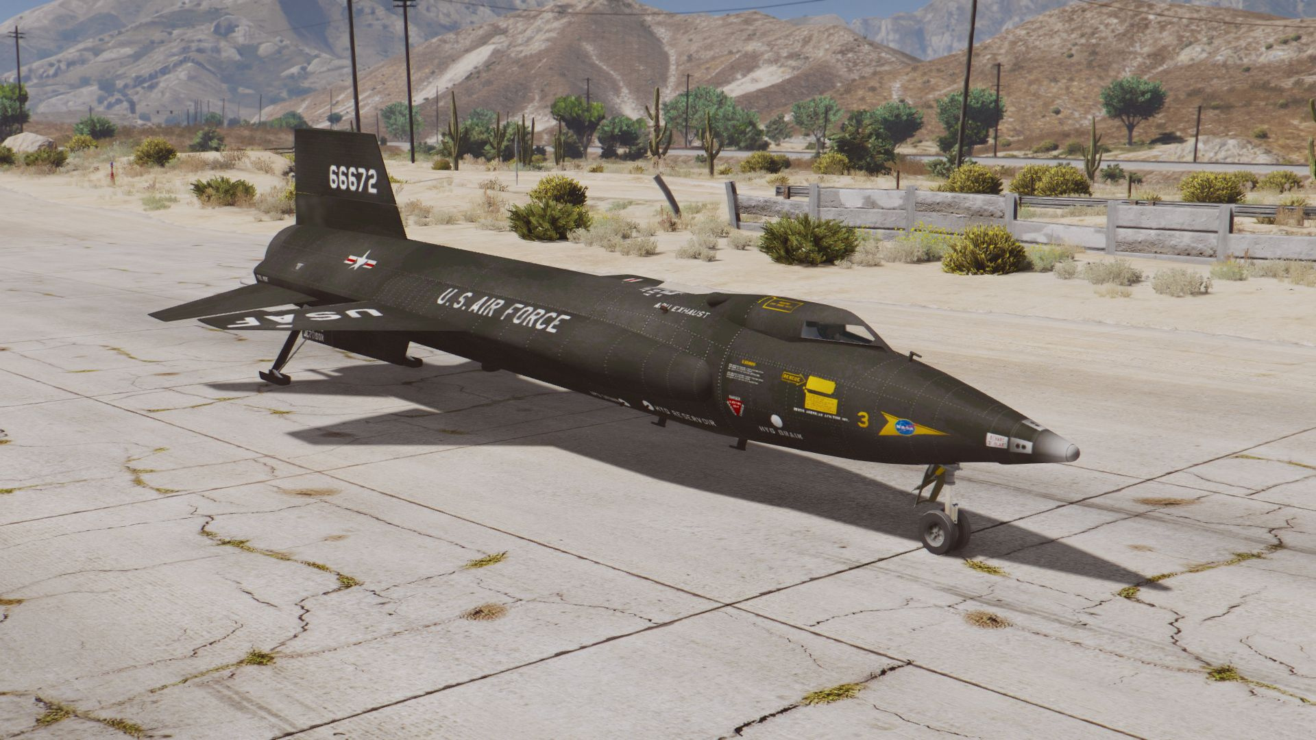 X-15 Rocket Plane And NB-52 Mothership [Add-On]