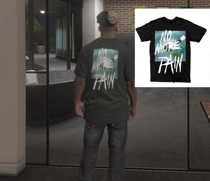 xxxtentacion BAD VIBES FOREVER BRAND clothing - GTA5-Mods com