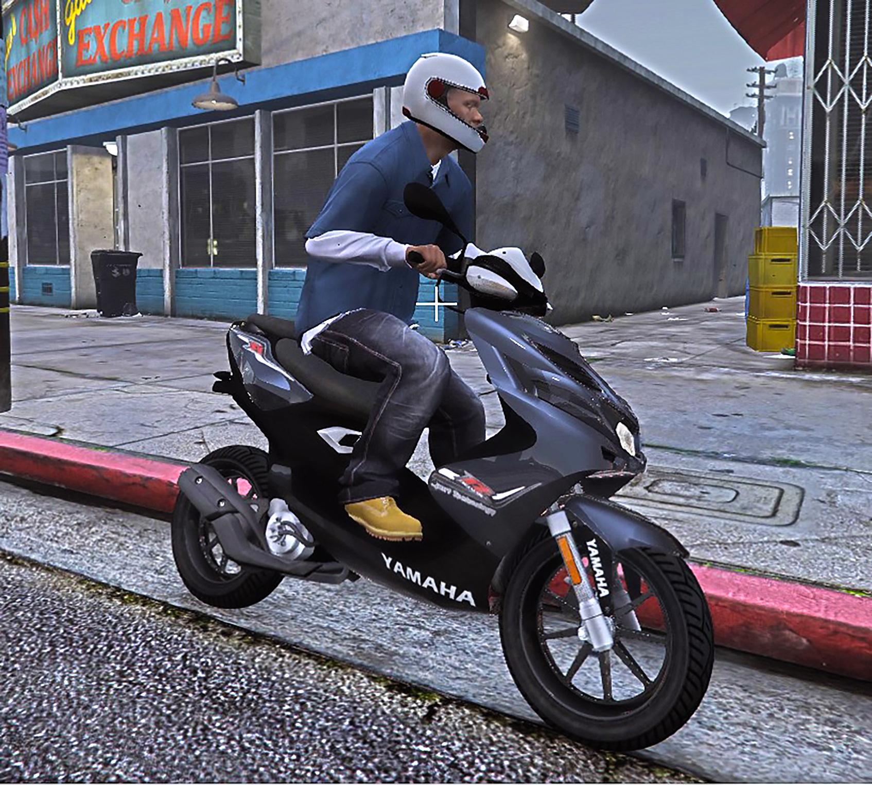 Yamaha Aerox R Replace Add On
