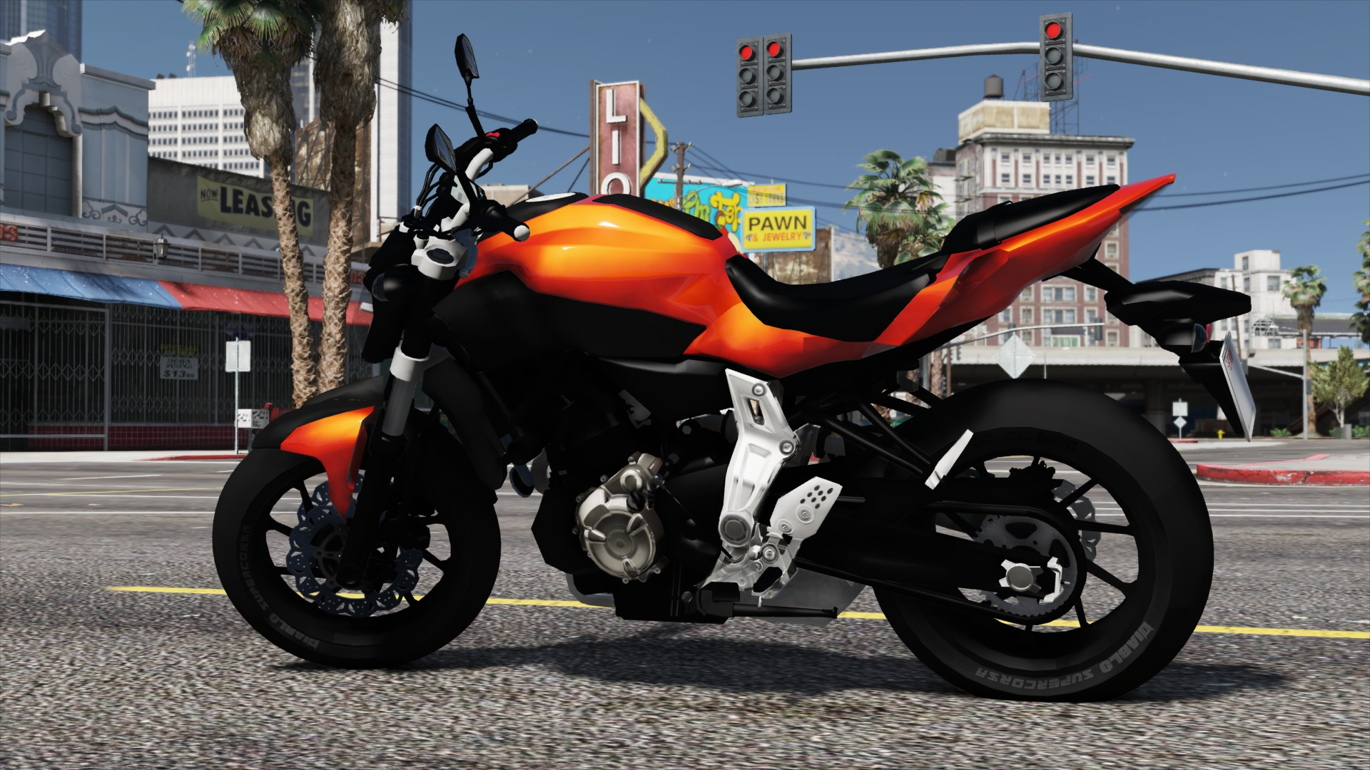 yamaha mt 07 fz 07 add on replace gta5. Black Bedroom Furniture Sets. Home Design Ideas