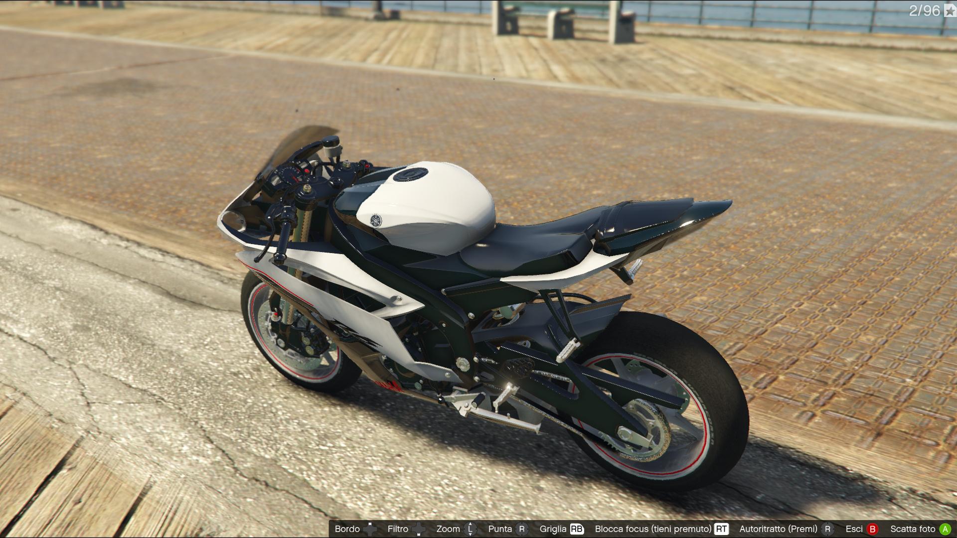 Yamaha r6 gta5 for 02 yamaha r6