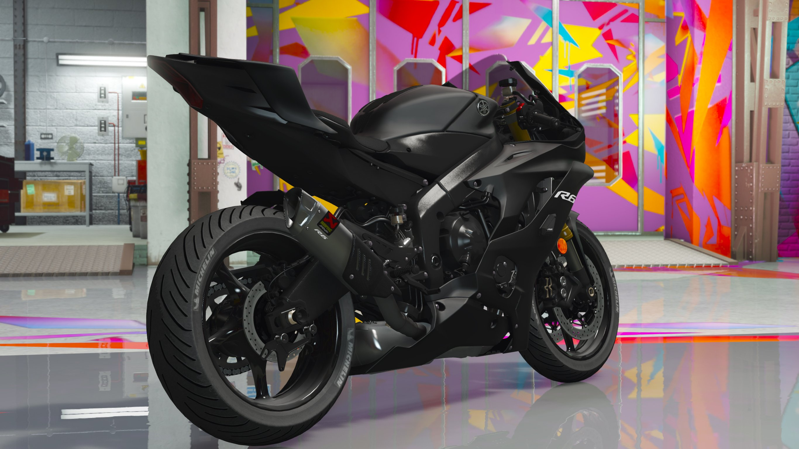 yamaha yzf r6 2017 add on gta5. Black Bedroom Furniture Sets. Home Design Ideas