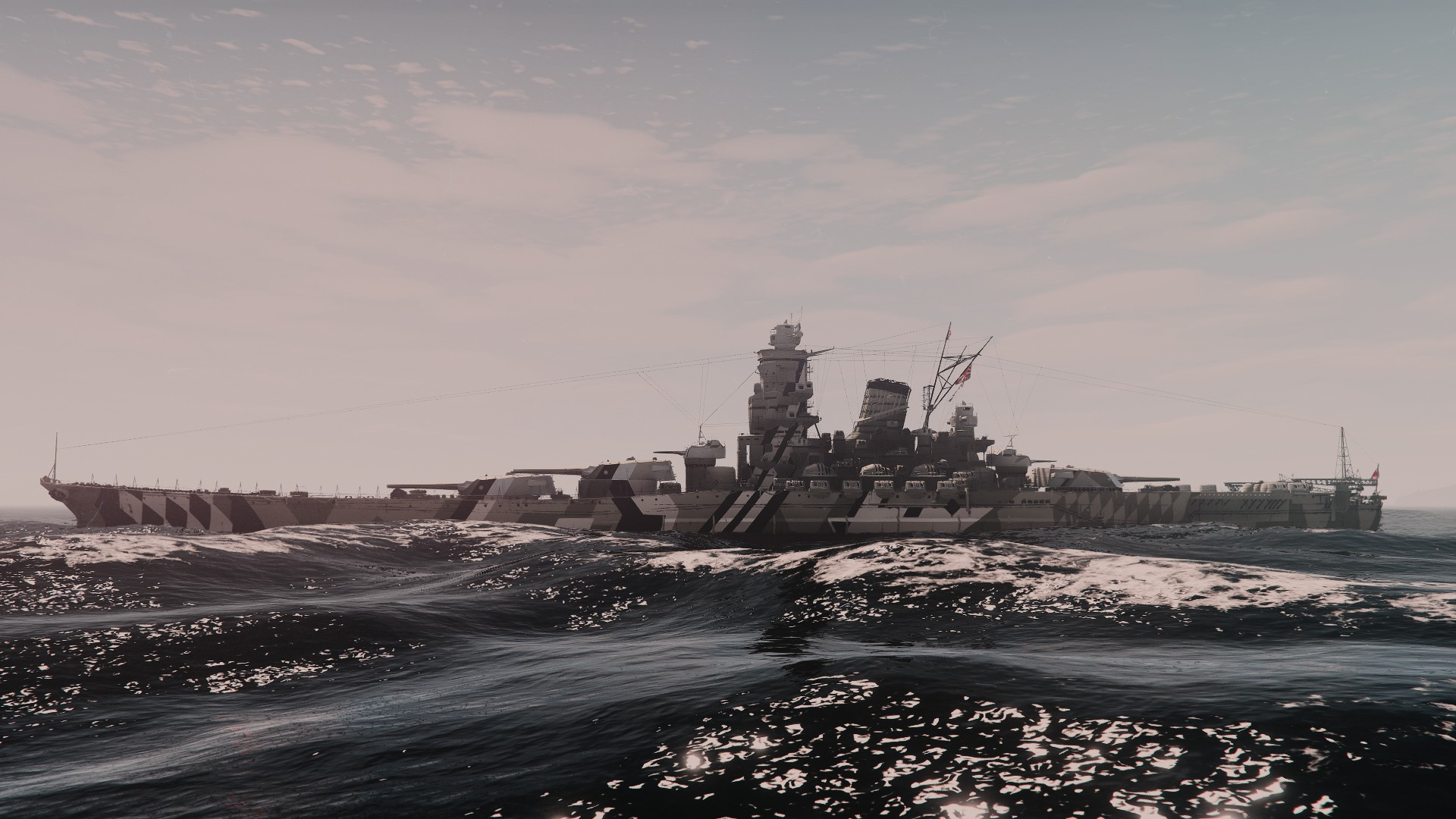 Yamato-Class Battleship ❀ IJN Yamato & IJN Musashi【ADD-ON