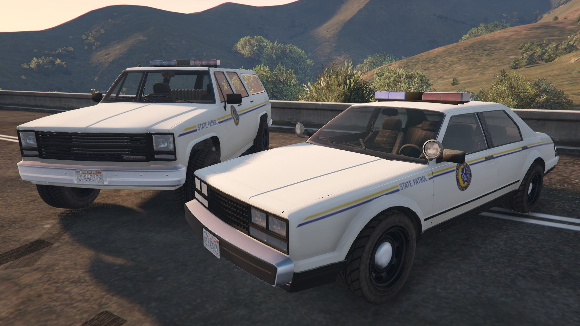 Yankton Police Cars Without Snow [Add-On / Replace] - GTA5