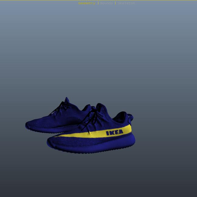 more photos 6a059 c66c0 Yeezy IKEA Shoes for Franklin - GTA5-Mods.com