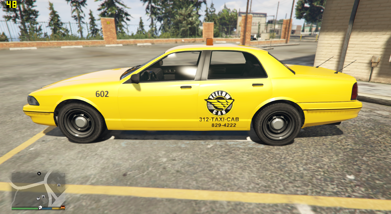 Yellow cab chicago gta5 for Schuhschrank yellow cab