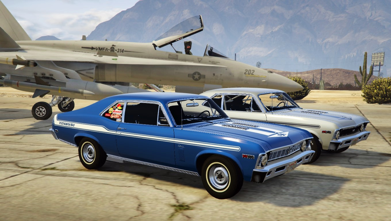 Yenko stripes for zievs chevy nova gta5 - Chefy 5 opiniones ...