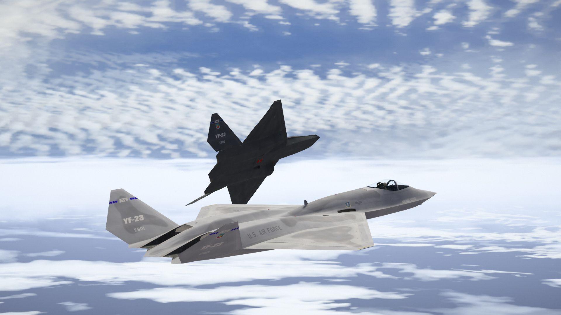YF-23 Black Widow II [Add-On] - GTA5-Mods.com