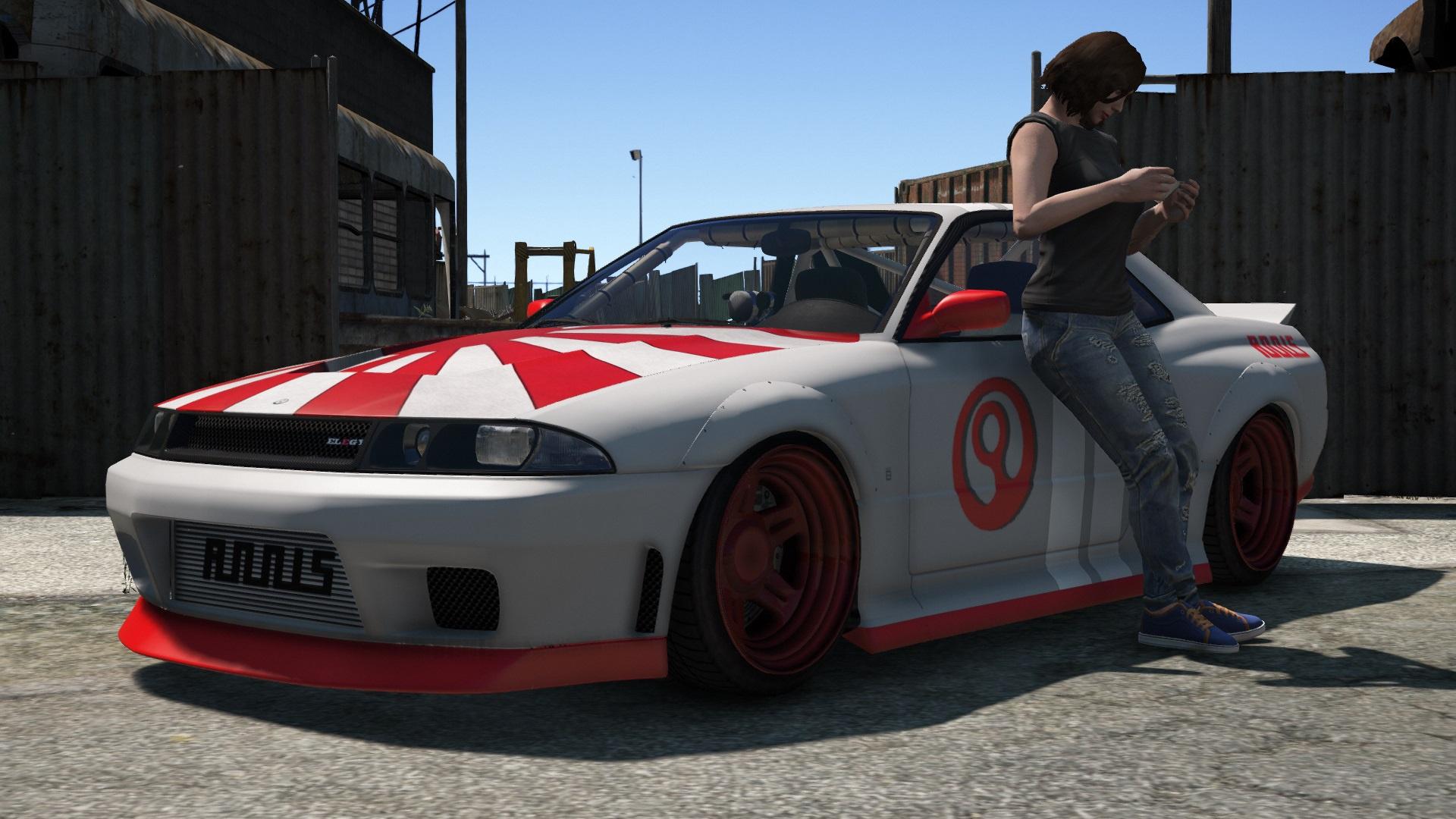 Quot Zero Racer Quot Livery For Annis Elegy Retro Custom Gta5
