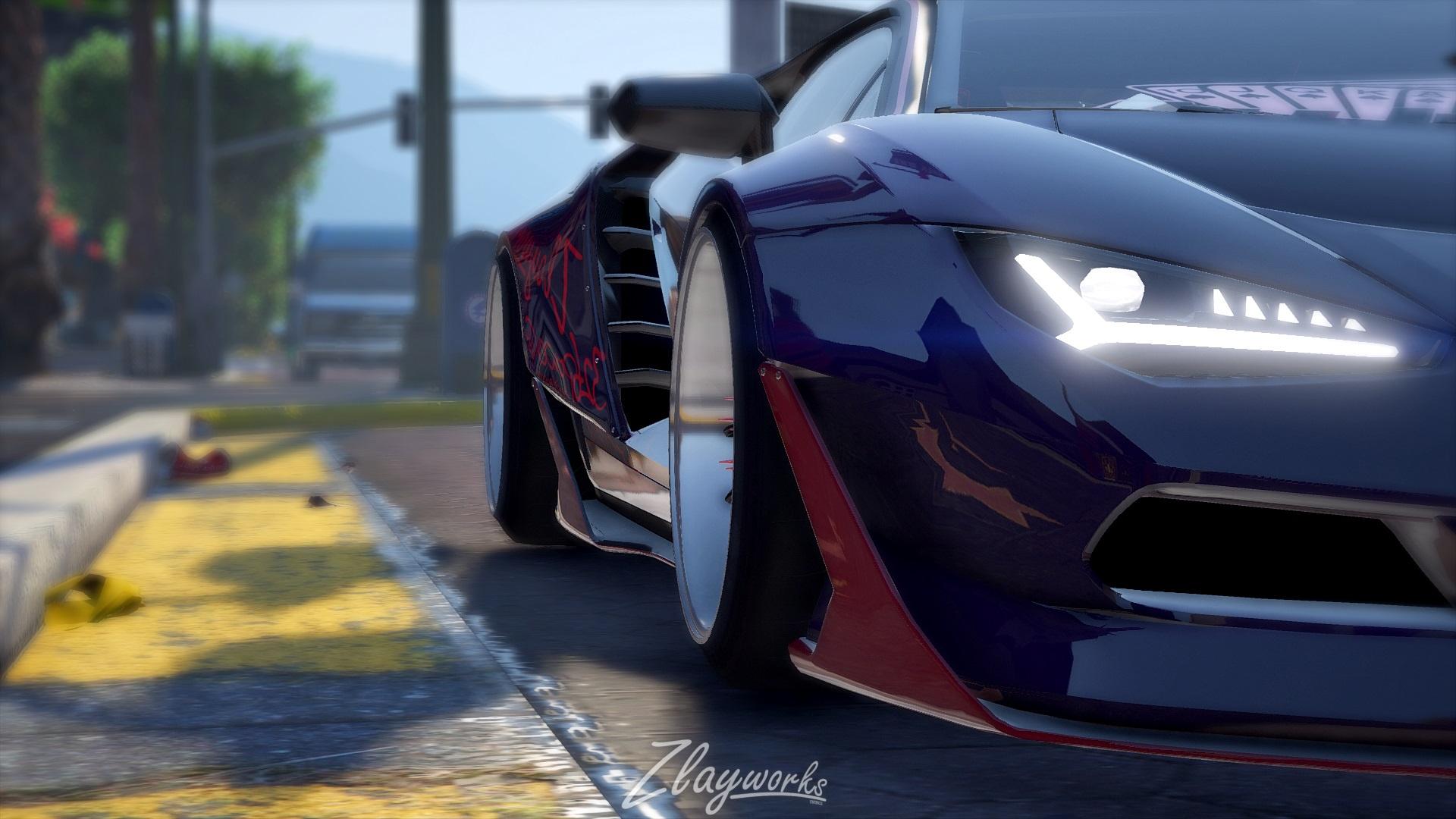 Zlayworks Lamborghini Zentenario Add On Replace Gta5 Mods Com