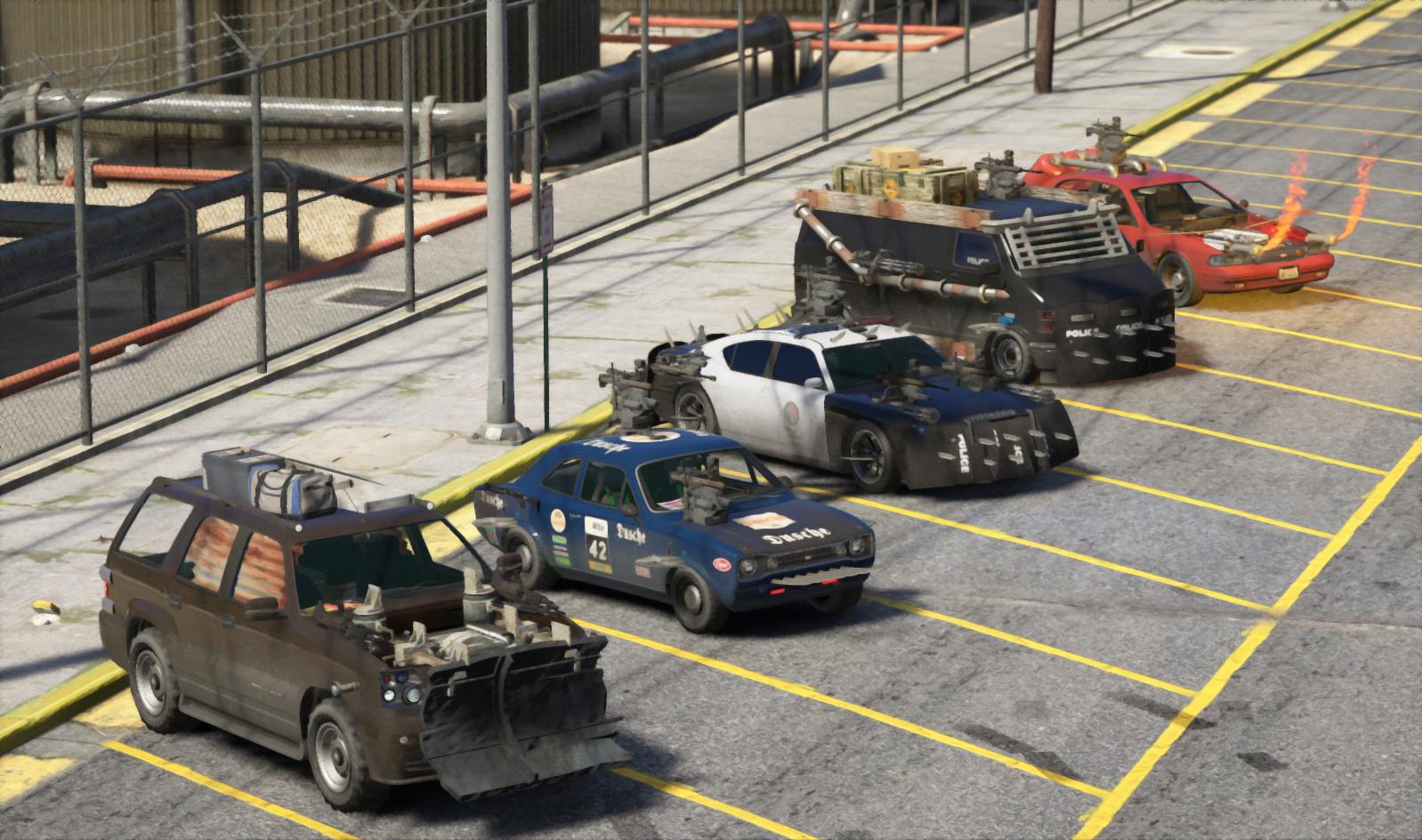 Zombie Cars [Menyoo] - GTA5-Mods com