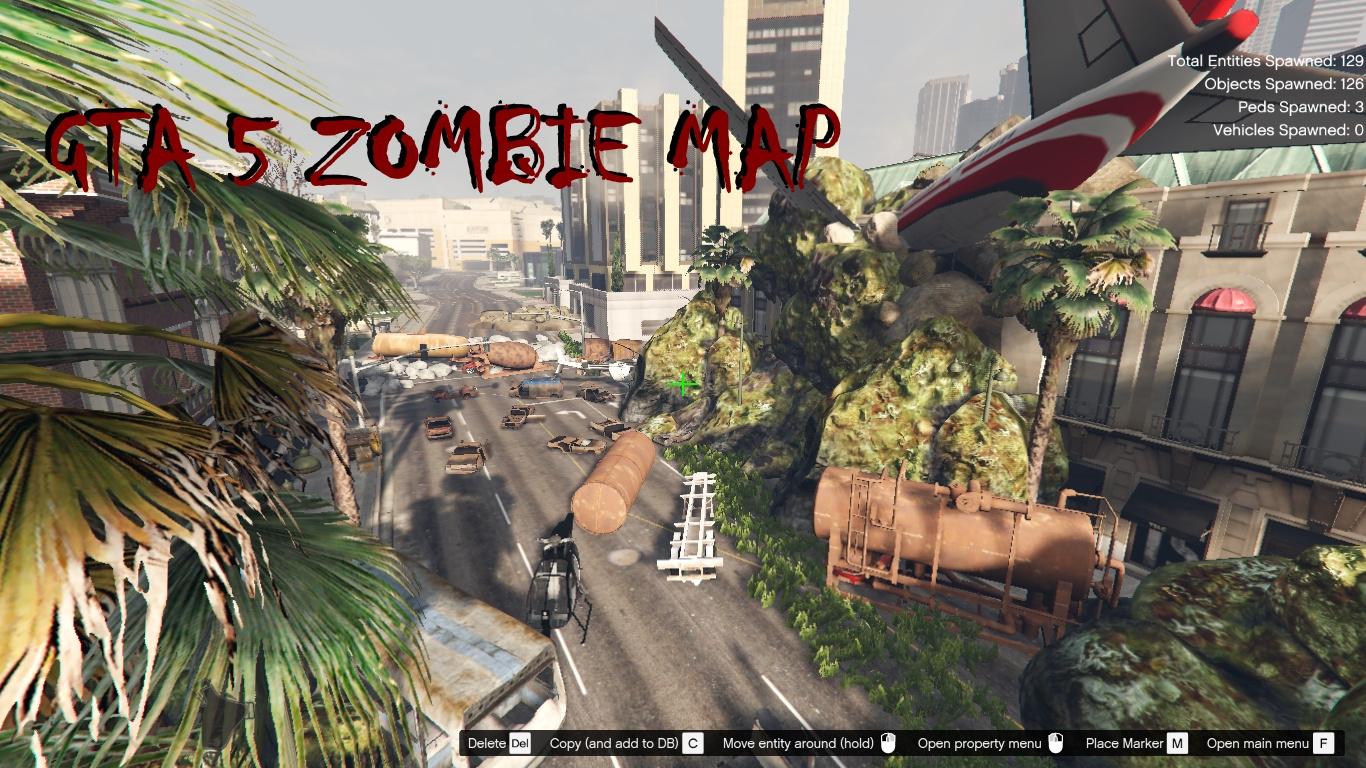 Zombie MAP [Menyoo] & [DLC Ymap] - GTA5-Mods.com on