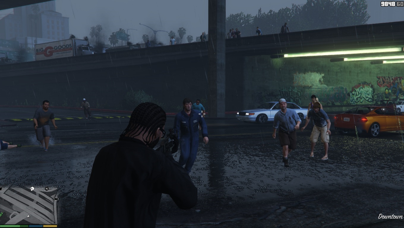 how to get the gta zombie mod